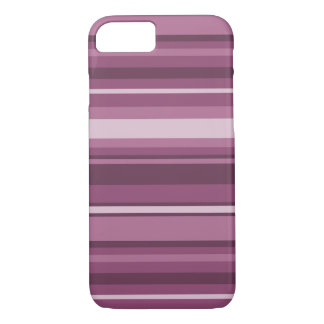 Coque iPhone 8/7 Rayures mauve