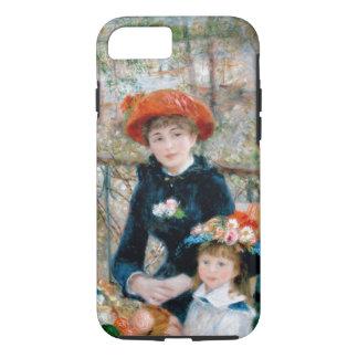 Coque iPhone 8/7 Renoir - les deux soeurs sur la terrasse - 1881