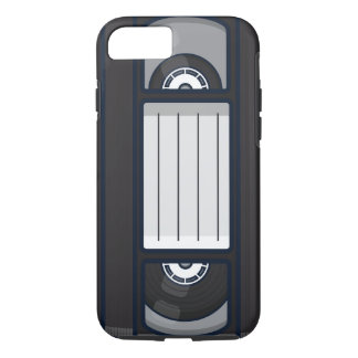 Coque iPhone 8/7 Rétro - caisse de bande de VHS