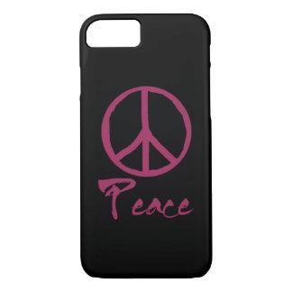 Coque iPhone 8/7 Rétro signe de paix