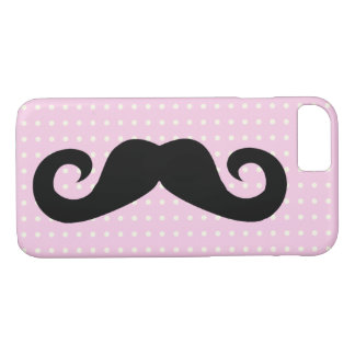 Coque iPhone 8/7 Rose de moustache