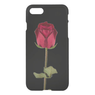 Coque iPhone 8/7 Rose rouge