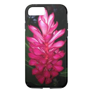 Coque iPhone 8/7 Rose tropical