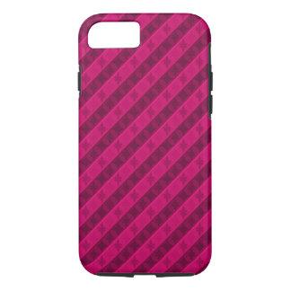 Coque iPhone 8/7 Rose vibrant de rose - cas fait sur commande de