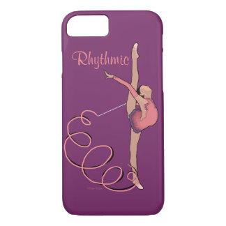 Coque iPhone 8/7 Ruban rythmique je téléphone le cas 6