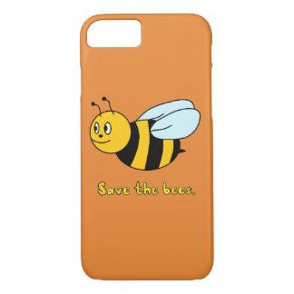 Coque iPhone 8/7 'Sauvez les abeilles
