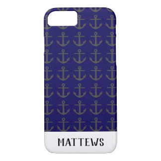 Coque iPhone 8/7 Silhouette d'ancre