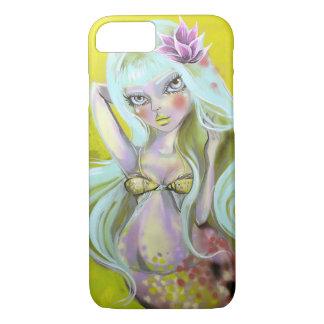 Coque iPhone 8/7 Sirène avec le dessus de baiser de poissons