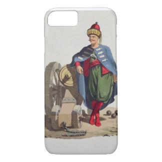 Coque iPhone 8/7 Soldat turc, des 'costumes du divers national