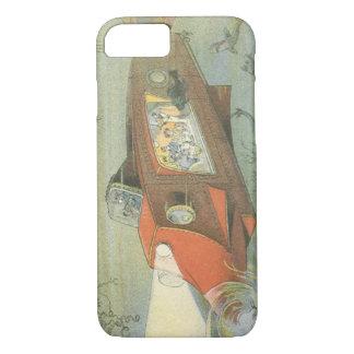 Coque iPhone 8/7 Sous-marin vintage de Steampunk de la
