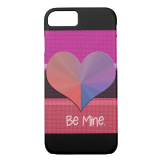 Coque iPhone 8/7 Soyez coeur réfléchi de Valentine de mine