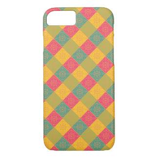 Coque iPhone 8/7 Spirales et conception de diamant - cas/peau de