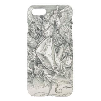 Coque iPhone 8/7 St Michael luttant avec le dragon