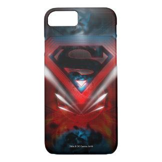 Coque iPhone 8/7 Superman a stylisé le logo futuriste de  