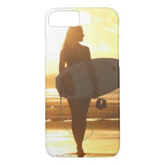 Coque iPhone 8/7 Surfer de plage