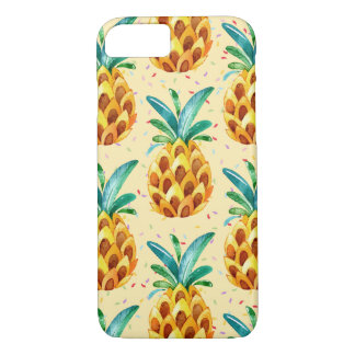 Coque iPhone 8/7 Surprise d'or douce d'ananas