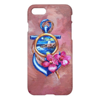 Coque iPhone 8/7 Tatouage d'ancre