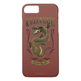 Coque iPhone 8/7 Tatouage de Croc de tueur du peloton | de suicide