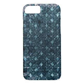 Coque iPhone 8/7 Teal rayé