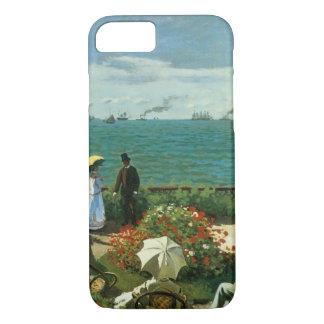 Coque iPhone 8/7 Terrasse au bord de la mer par Claude Monet