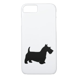Coque iPhone 8/7 terrier écossais