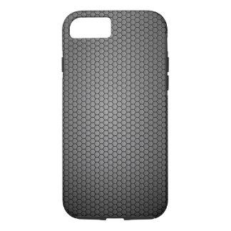 Coque iPhone 8/7 Texture de fibre de carbone de nid d'abeilles