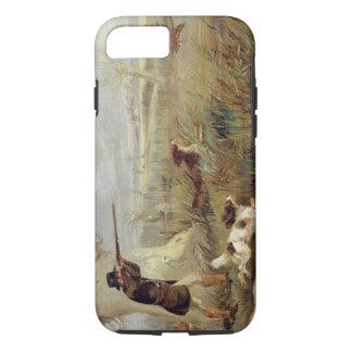Coque iPhone 8/7 Tir de canard (huile sur la toile)