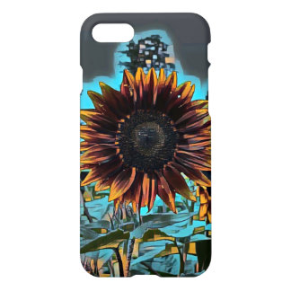 Coque iPhone 8/7 Tournesol graphique