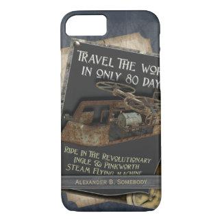 Coque iPhone 8/7 Transports aériens rouillés drôles de machine de