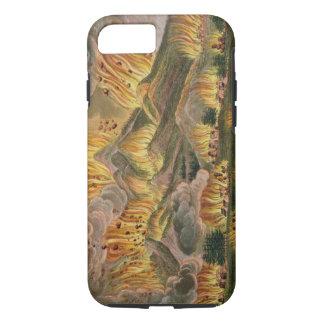 Coque iPhone 8/7 Tremblement de terre et éruption de la montagne