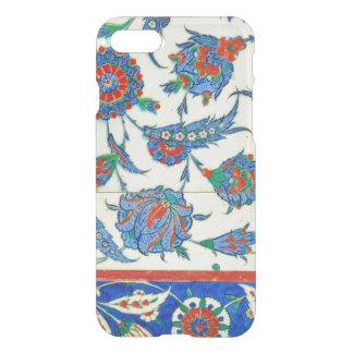 Coque iPhone 8/7 Tuile d'Iznik, conception florale turque
