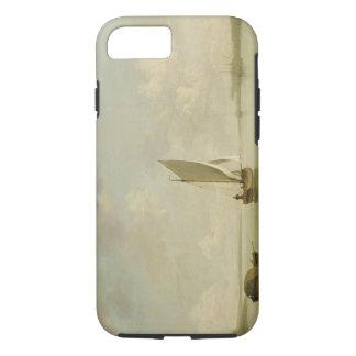 Coque iPhone 8/7 Un claquer sous la voile dans une brise légère en