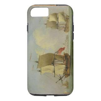 Coque iPhone 8/7 Un sloop anglais et une frégate dans une brise