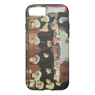 Coque iPhone 8/7 Une famille disant la grâce avant le repas, 1585