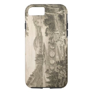 Coque iPhone 8/7 Une vue de tête de Stour au WILTSHIRE (gravure)