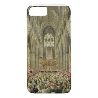 Coque iPhone 8/7 Une vue intérieure d'Abbaye de Westminster sur le
