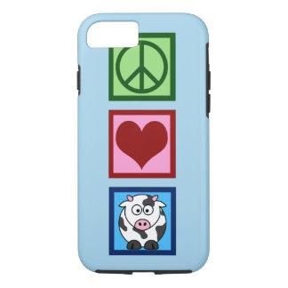Coque iPhone 8/7 Vache bleue