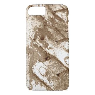 Coque iPhone 8/7 Vieux cas en acier de l'iPhone 7