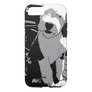 Coque iPhone 8/7 Vieux chien de berger anglais