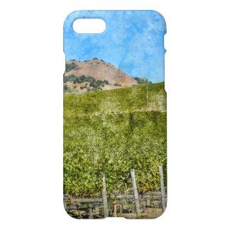 Coque iPhone 8/7 Vignoble de Napa Valley la Californie