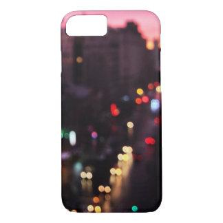 Coque iPhone 8/7 Ville dans Bokeh | New York, New York