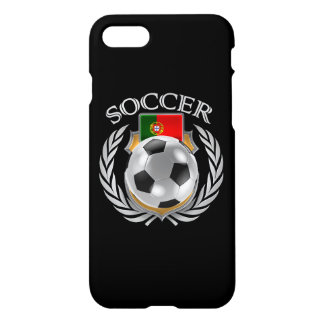 Coque iPhone 8/7 Vitesse de fan du football 2016 du Portugal