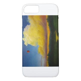 Coque iPhone 8/7 Vol de ballon de Steampunk