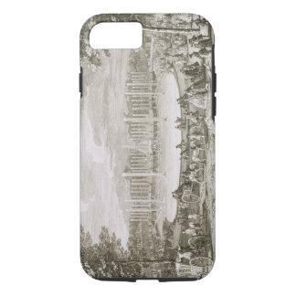 Coque iPhone 8/7 Vue de la fontaine de Neptune, Versailles (engra