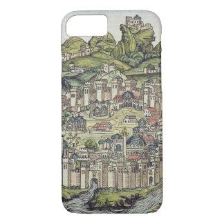 Coque iPhone 8/7 Vue de la ville murée de Constantinople, de Th