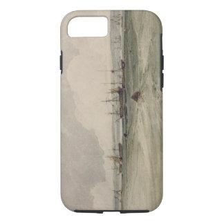 Coque iPhone 8/7 Vue de Sheerness (la semaine au-dessus du graphite
