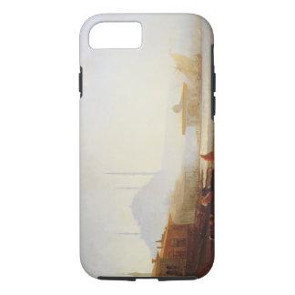 Coque iPhone 8/7 Vue d'Istanbul, 1864 (huile sur la toile)