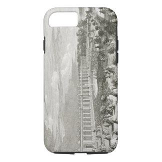 Coque iPhone 8/7 Vue du château de Trianon, le parterre (engr