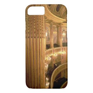 Coque iPhone 8/7 Vue intérieure du théatre de l'opéra regardant