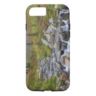 Coque iPhone 8/7 WA, parc national de mont Rainier, crique d'Édith
